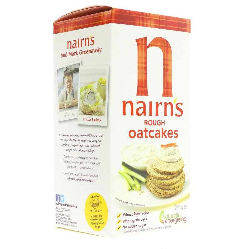 Nairn's Oatcakes - Traditional Rough (291g)