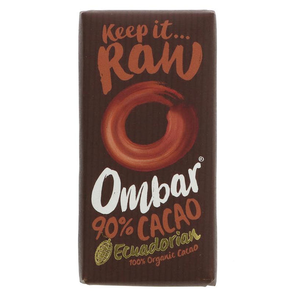 Ombar Raw Chocolate 90% Raw Chocolate (35g)