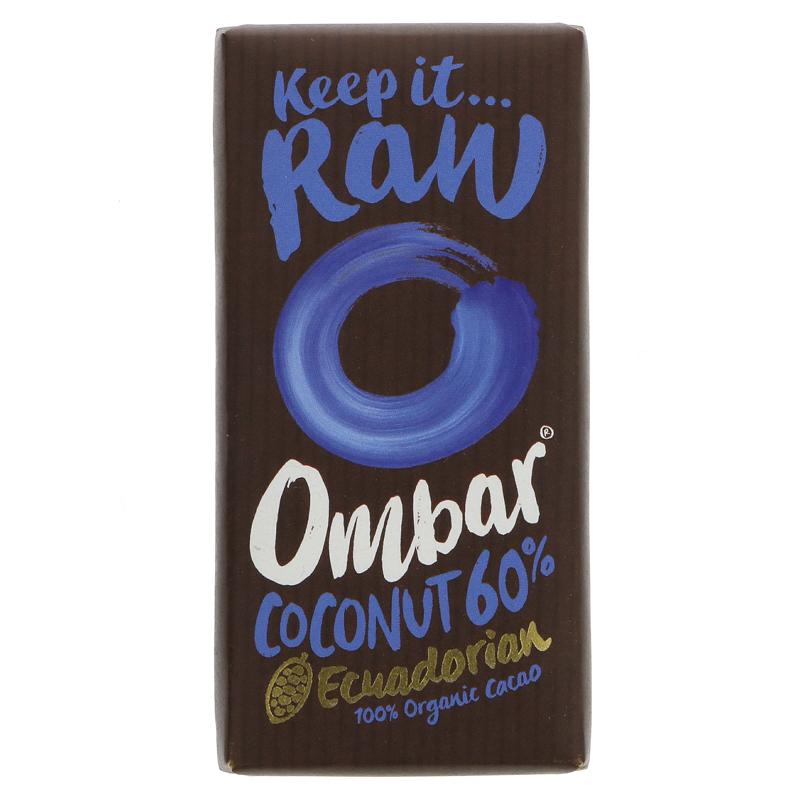 Ombar Raw Chocolate Coco Dark Chocolate (35g)