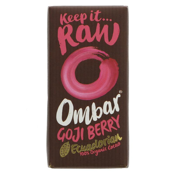Ombar Raw Chocolate Goji Berry Chocolate (35g)