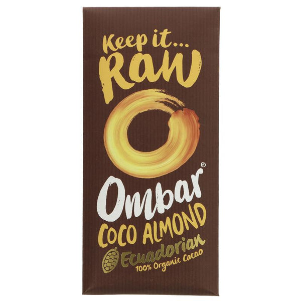 Ombar Raw Chocolate Coco Almonds Raw Chocolate (70g)