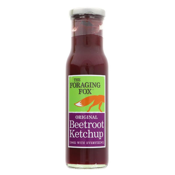 The Foraging Fox Beetroot Ketchup (255g)