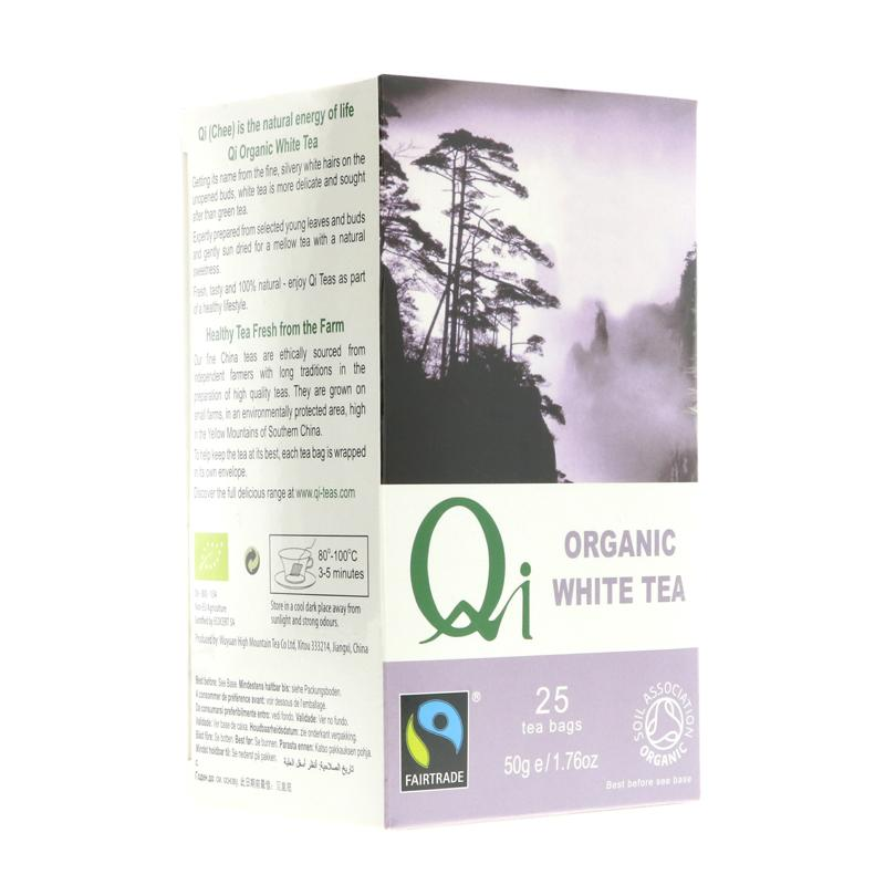 Qi Fairtrade White Tea (25 bags)
