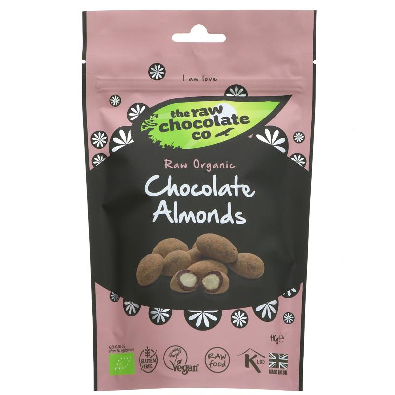 The Raw Chocolate Co Raw Chocolate Covered Almonds (25g)