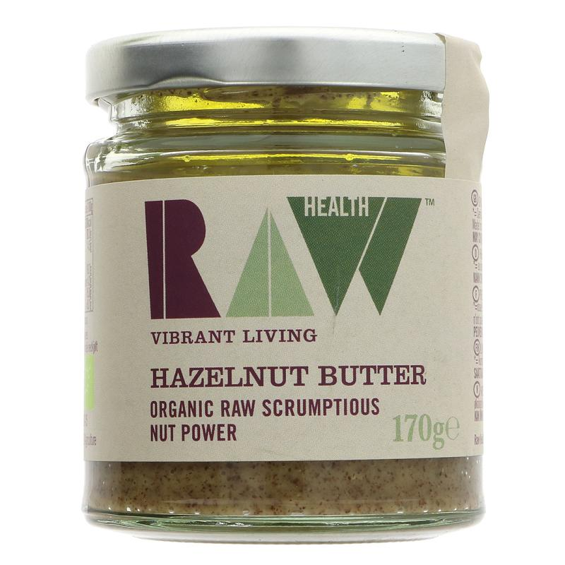 Raw Health Whole Raw Hazelnut Butter (170g)