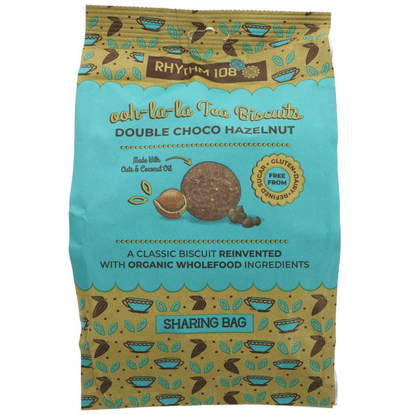 Rhythm 108 Double Choco Hazelnut Biscuits (135g)