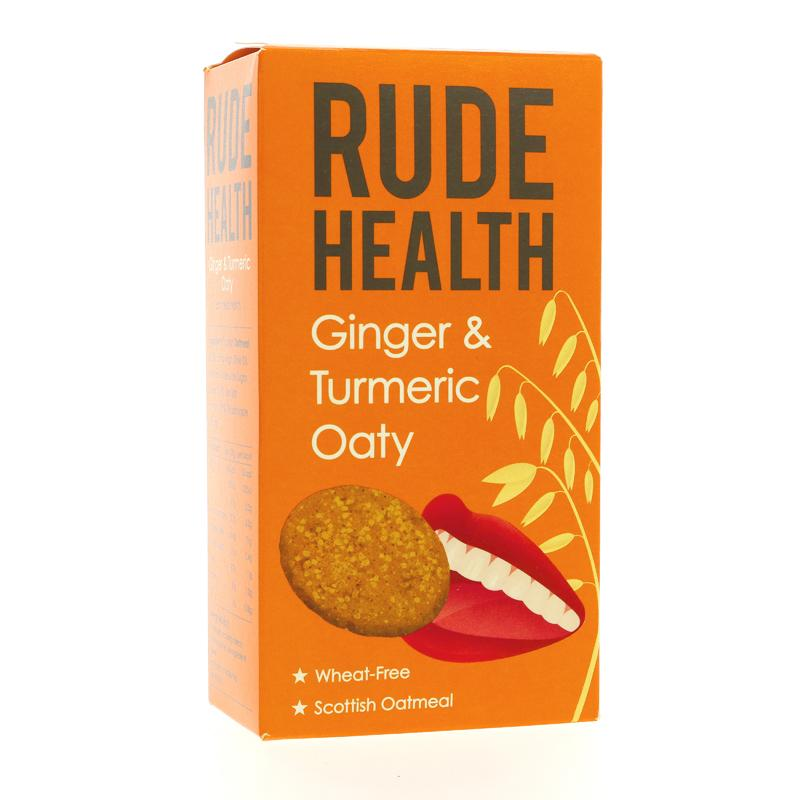 Rude Health Foods Ginger & Turmeric Oaty (200g)