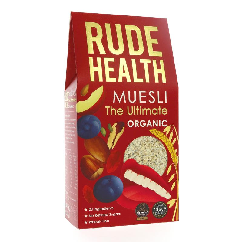 Rude Health Foods Organic Ultimate Muesli (500g)