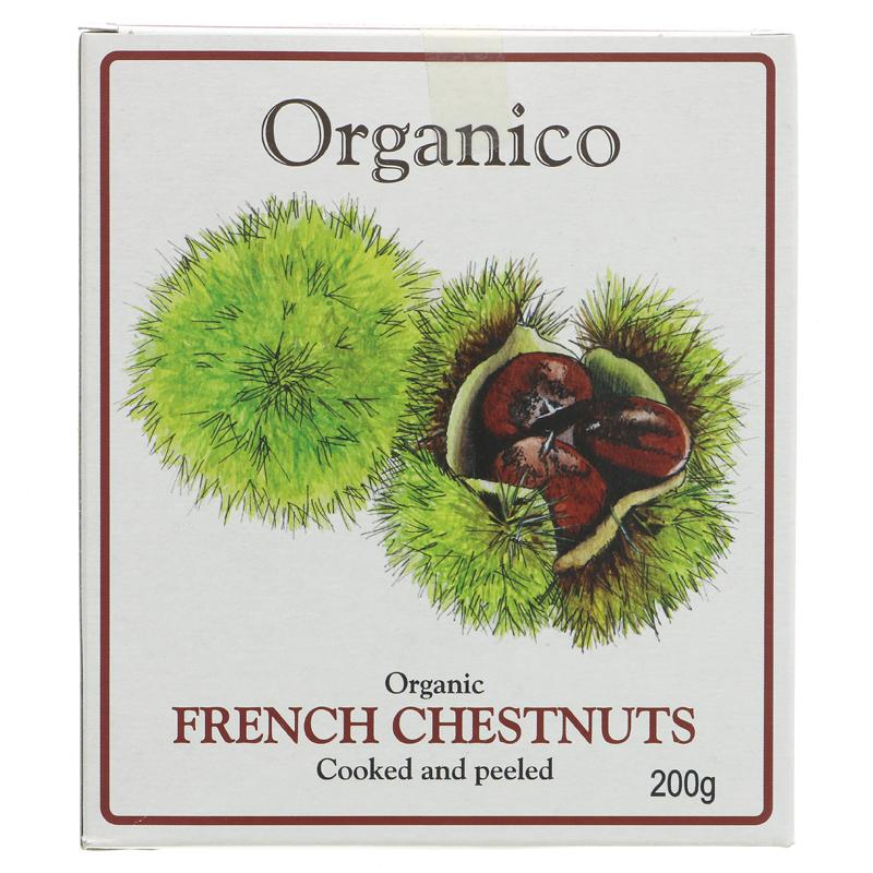 Organic Collection French Chestnuts - Organic  200g