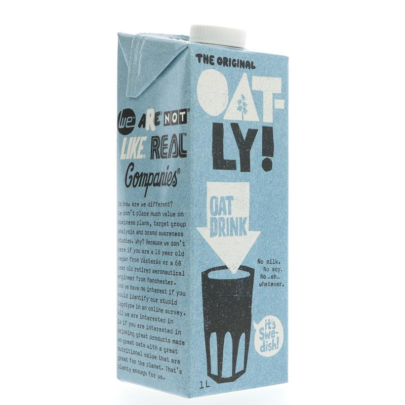Oatly Oatly Enriched - Added Calcium (1ltr)