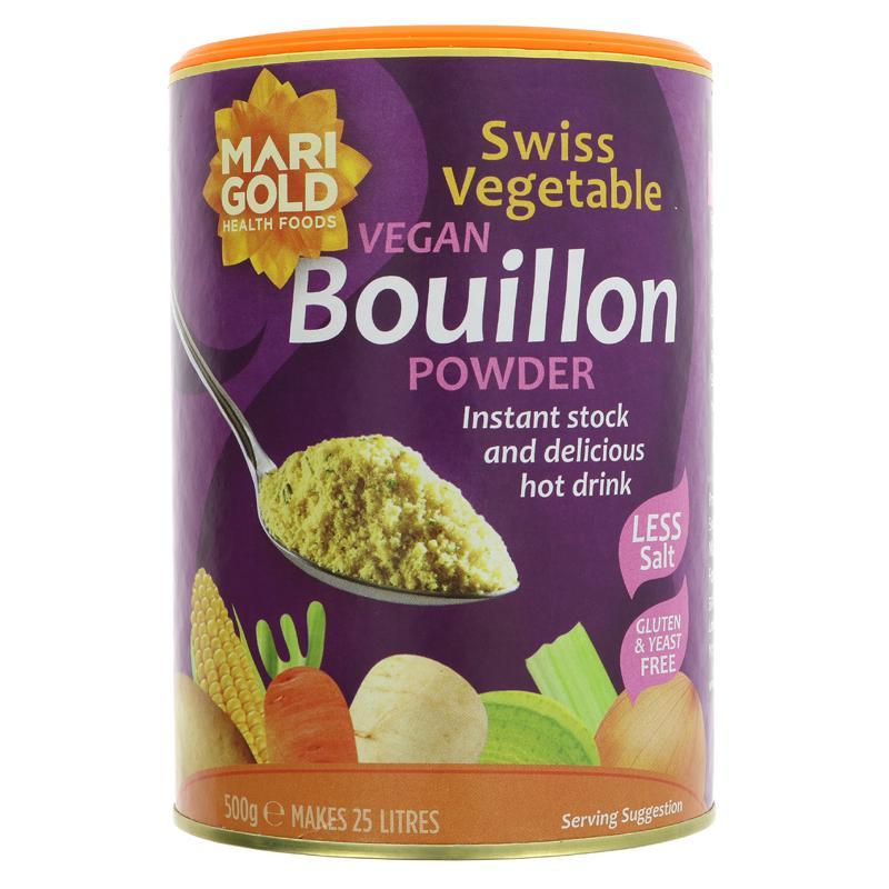 Marigold Bouillon Powder - Reduced Salt (500g)