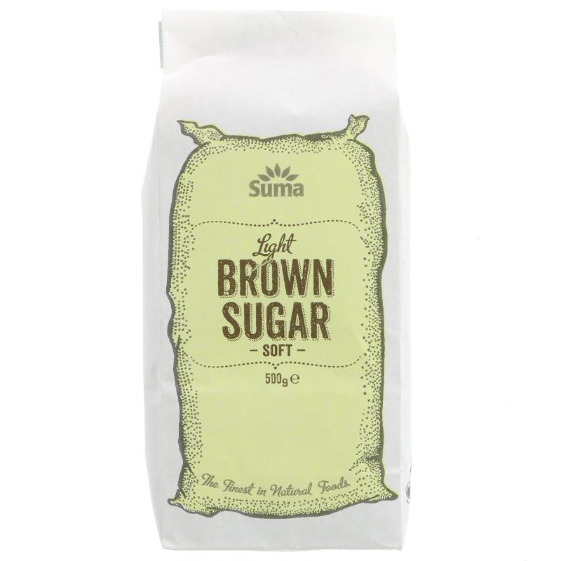 Suma Soft Light Brown Sugar  (500g)