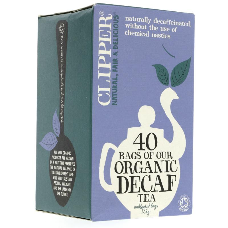 Clipper Organic Decaff Everyday Tea (40 bags)