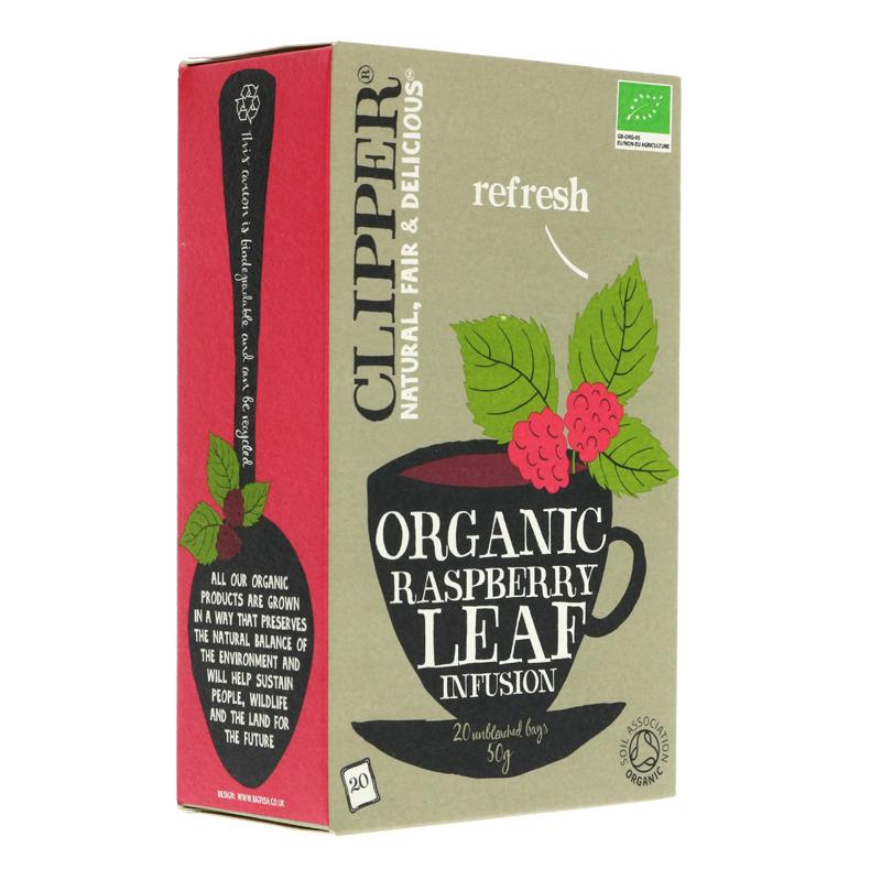 Clipper Raspberry Leaf - Organic (20 bags)