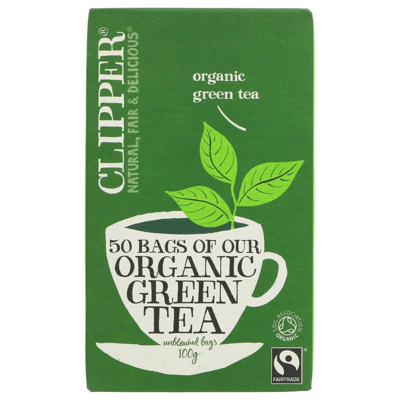 Clipper Green Tea - organic  (50 bags)