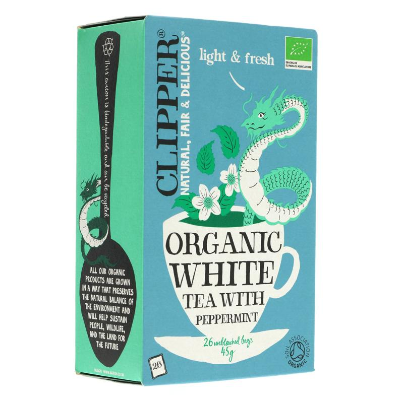 Clipper White Tea with Peppermint (26 bags)