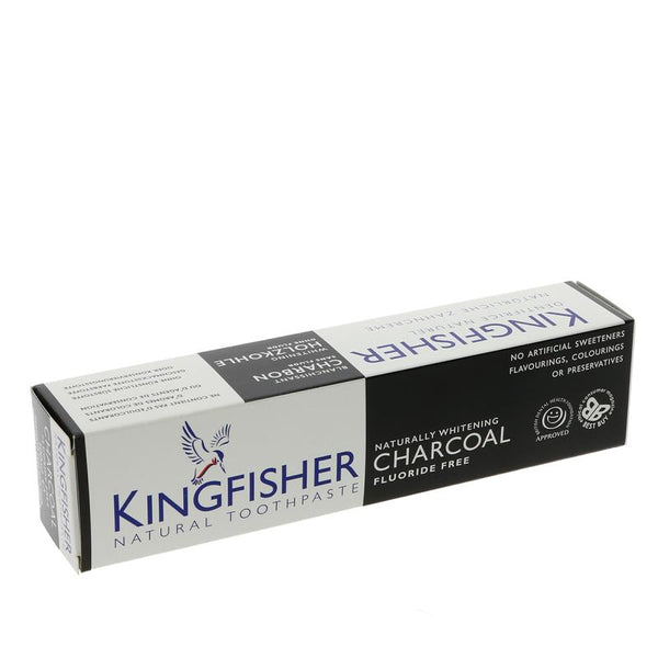 Kingfisher Charcoal Naturally Whitening (100ml)
