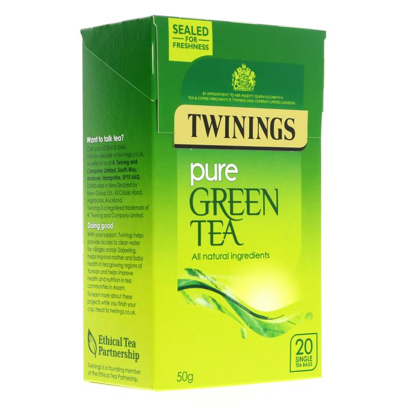 Twinings Pure Green Tea (20 bags)