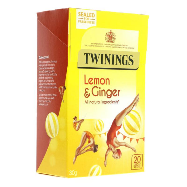 Twinings Lemon and Ginger (20 bags)