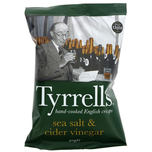 Tyrrells Cider Vinegar and Sea Salt (40g)