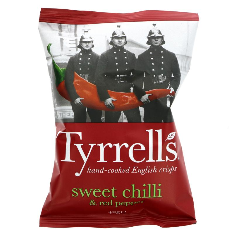 Tyrrells Sweet Chilli and Red Pepper (40g)