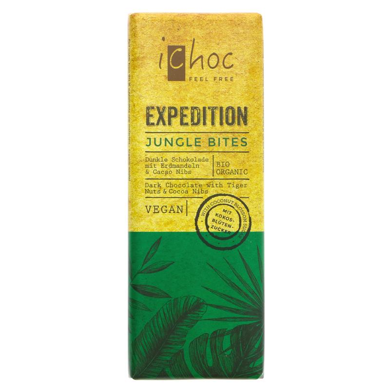 Vivani Organic Chocolate Expedition Jungle Bites (50g)