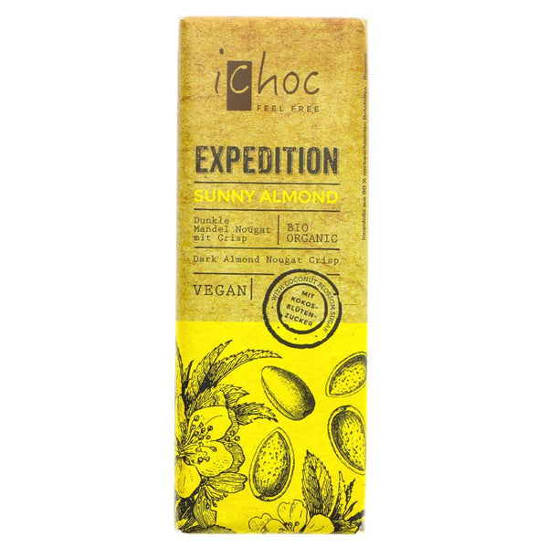 Vivani Organic Chocolate Expedition Sunny Almond (50g)