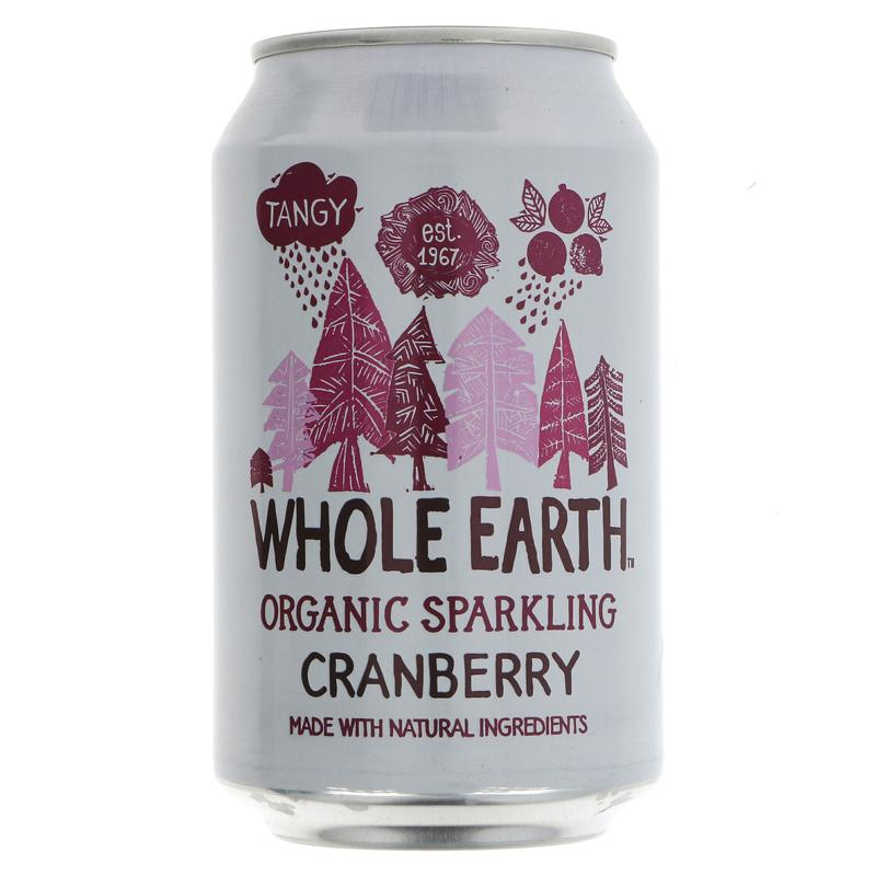 Whole Earth Mountain Cranberry - Organic (330ml)