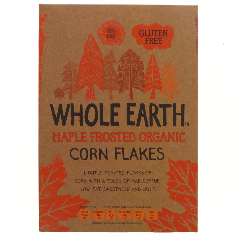 Whole Earth Maple Frosted Flakes (375g)