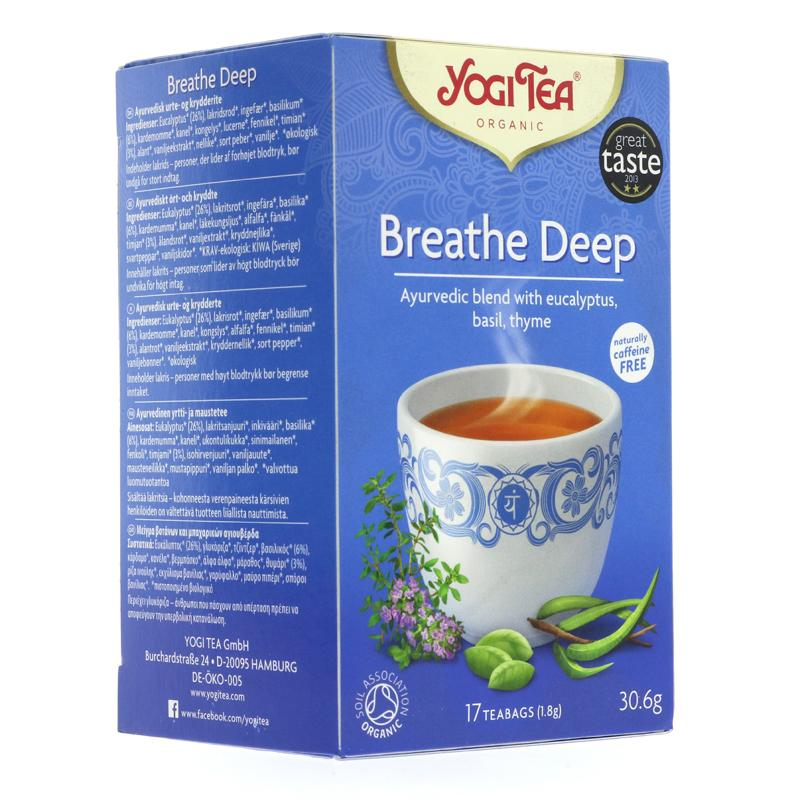 Yogi Tea Breath Deep - Organic (17 bags)