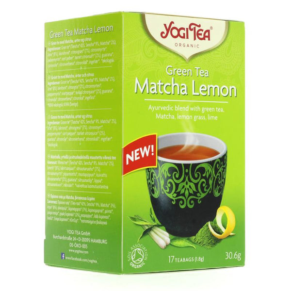 Yogi Tea Green Tea Matcha Lemon (17 bags)