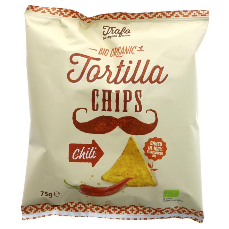 Trafo Tortilla Chips - Chilli (75g)