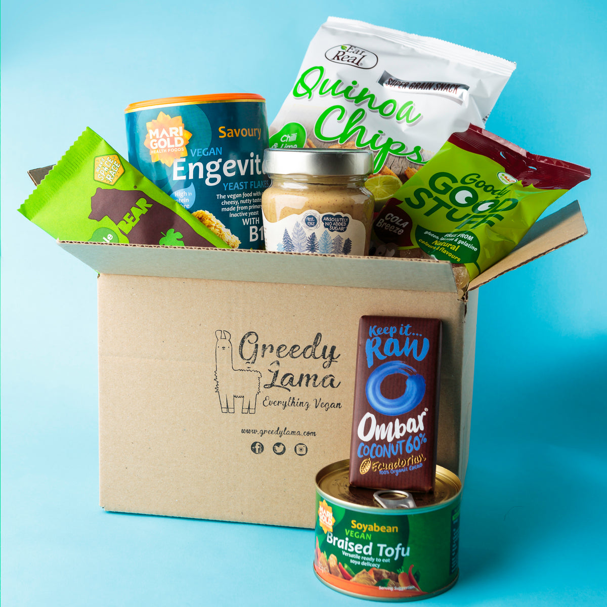 Greedy Lama Vegan Subscription Box Examples