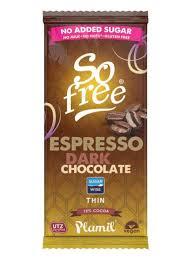 So free No Added Sugar Espresso Dark Chocolate (80g)