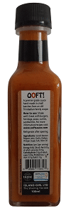 Ooft! Aged Scotch Bonnet Hot Sauce (100ml)