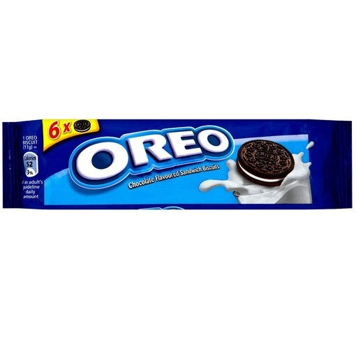 Oreo Chocolate Sandwich Biscuit Snack Pack (66g)