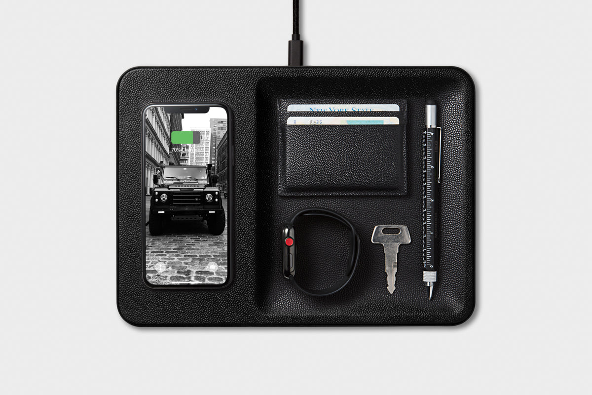 Charging Pad and Catchall from Courant