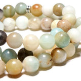 Amazonite Stone Tree of Life Yoga Bracelet - Yoga Wear Outlet