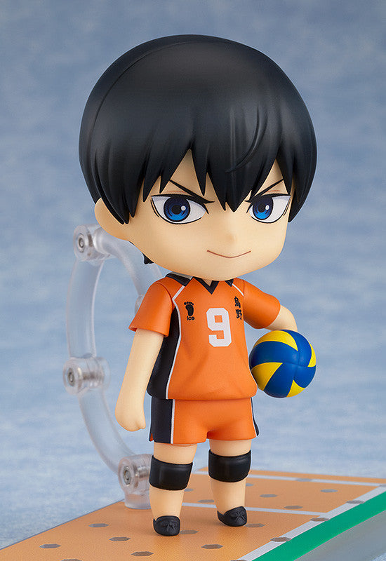 Nendoroid 1455 HAIKYU!! TO THE TOP - Tobio Kageyama: The New Karasuno Ver. Main pose