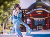 Scale Figure 1/7 - ANIPLEX - Rascal Does Not Dream of Bunny Girl Senpai - MAI SAKURAJIMA Kimono ver. main pose