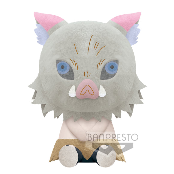 Banpresto  Kimetsu No Yaiba Big Plush - INOSUKE HASHIBIRA main pose
