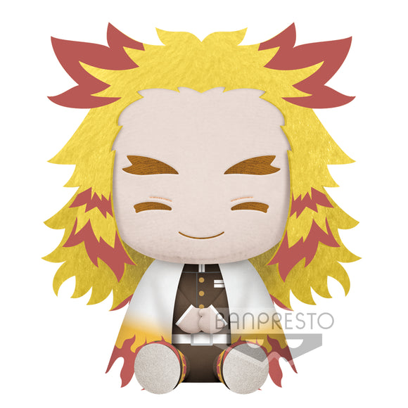 Banpresto  Kimetsu No Yaiba Big Plush - KYOJURO RENGOKU main pose
