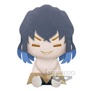 Banpresto  Kimetsu No Yaiba Big Plush - INOSUKE HASHIBIRA REAL FACE