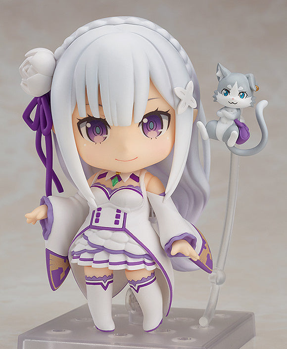 Nendoroid 751 Re:ZERO -Starting Life in Another World- - Emilia (2nd release) main pose