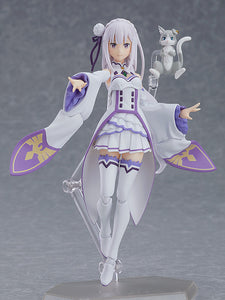 Figma 419 Re:ZERO -Starting Life in Another World- - Emilia (2nd Release) main pose
