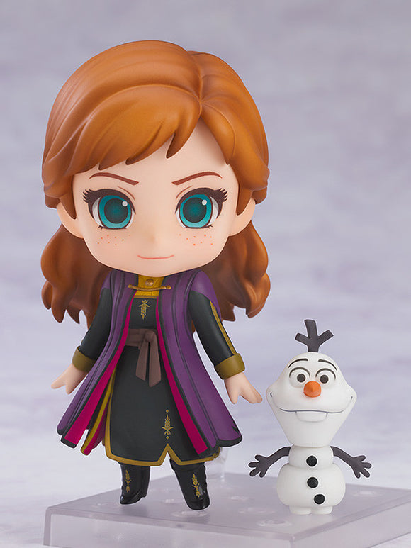 Nendoroid 1442 Frozen 2 - Anna: Travel Costume Ver. Main pose