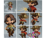 Nendoroid 1030 Overwatch - McCree: Classic Skin Edition collage