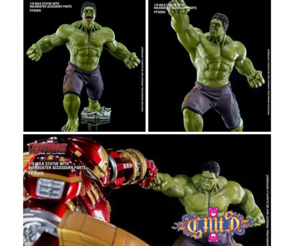 King Arts Scale Figure 1/9 Hulk with Hulk Buster Accessory Parts