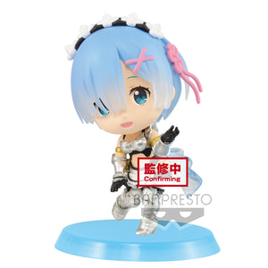 Banpresto Chibikyun Character Re: Zero vol 3 - Rem (ver B) main pose