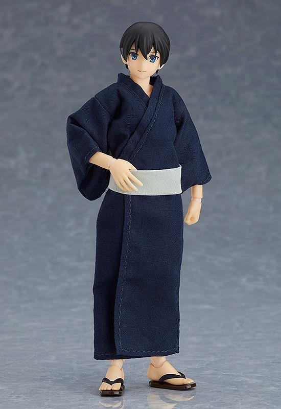 Figma 472 figma Styles - figma Male Body (Ryo) with Yukata Outfit main pose